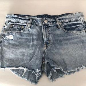 Gap Blue Jean cut off shorts